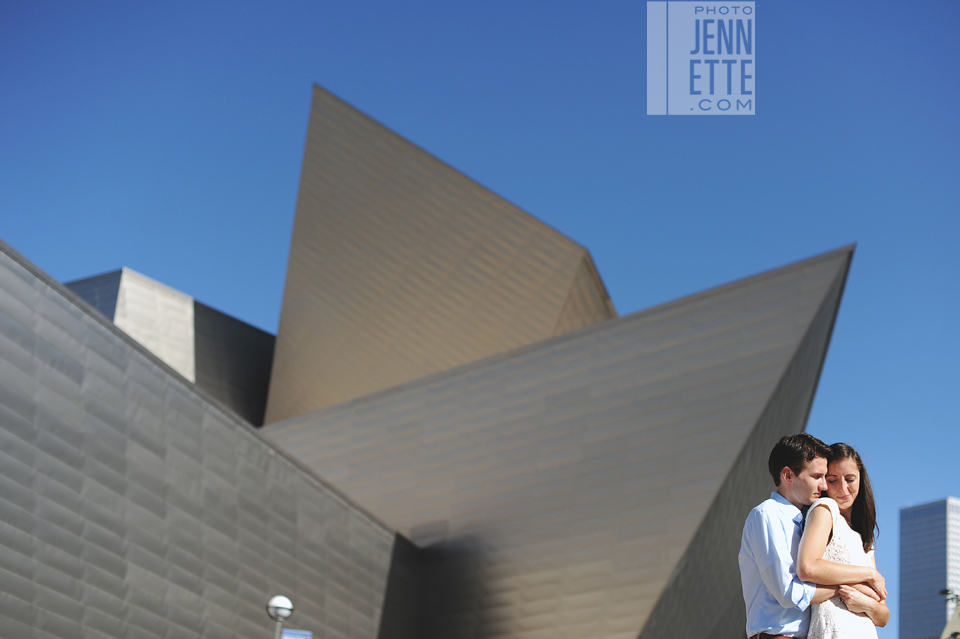 denver art museum engagement photography