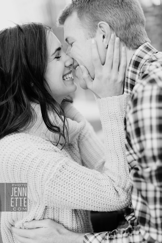 downtown denver engagement photography | photojennette photography